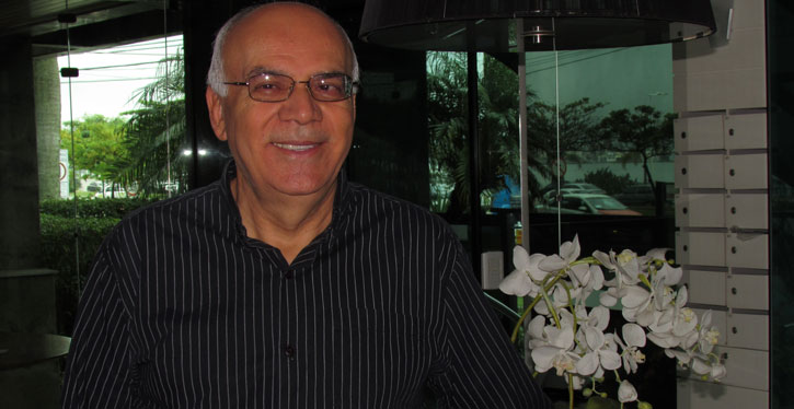 Arnaldo Ribeiro de Souza, síndico do Condomínio Residencial Marazul