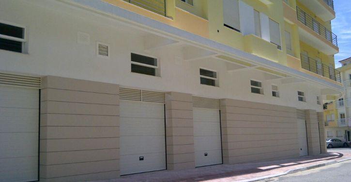 Garagens individuais garantem comodidade