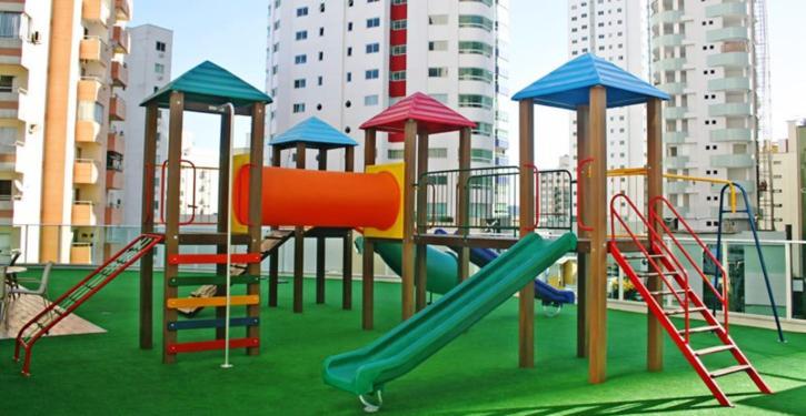 Playground: diversão e segurança para os pequenos