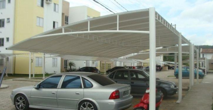 Coberturas de estacionamentos valorizam o imóvel