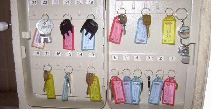 Organização das chaves facilita dia a dia de condomínio