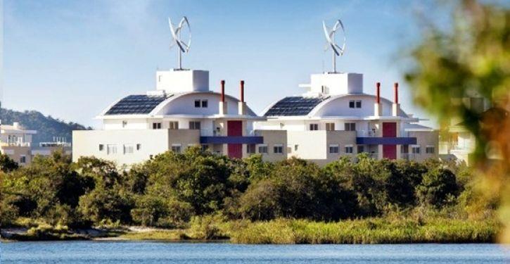Condomínio Neo Next Generation, em Florianópolis, é o primeiro no Brasil a ter gerador próprio de energia eólica
